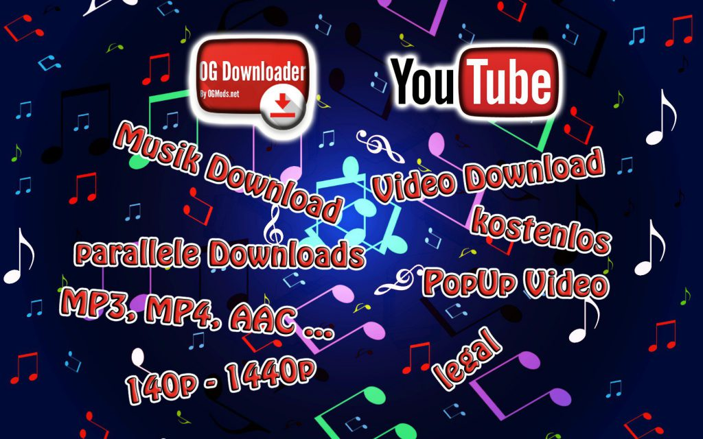 Musik von Youtube auf das Handy downloaden - OGYoutube App
